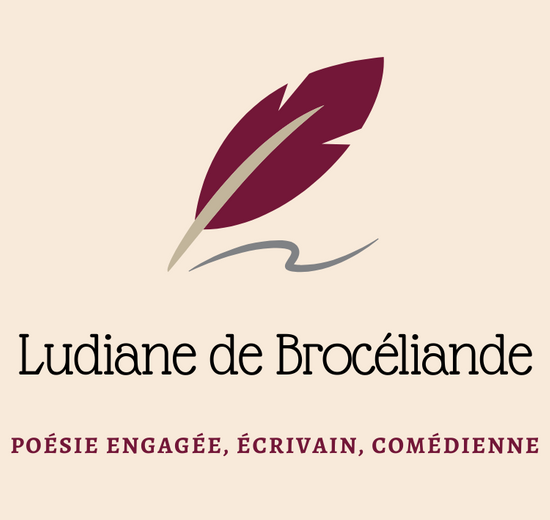 Ludiane de Brocéliande, poésie engagée, écrivain, comédienne